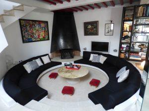 réfection de sièges, confection sur mesure de rideaux